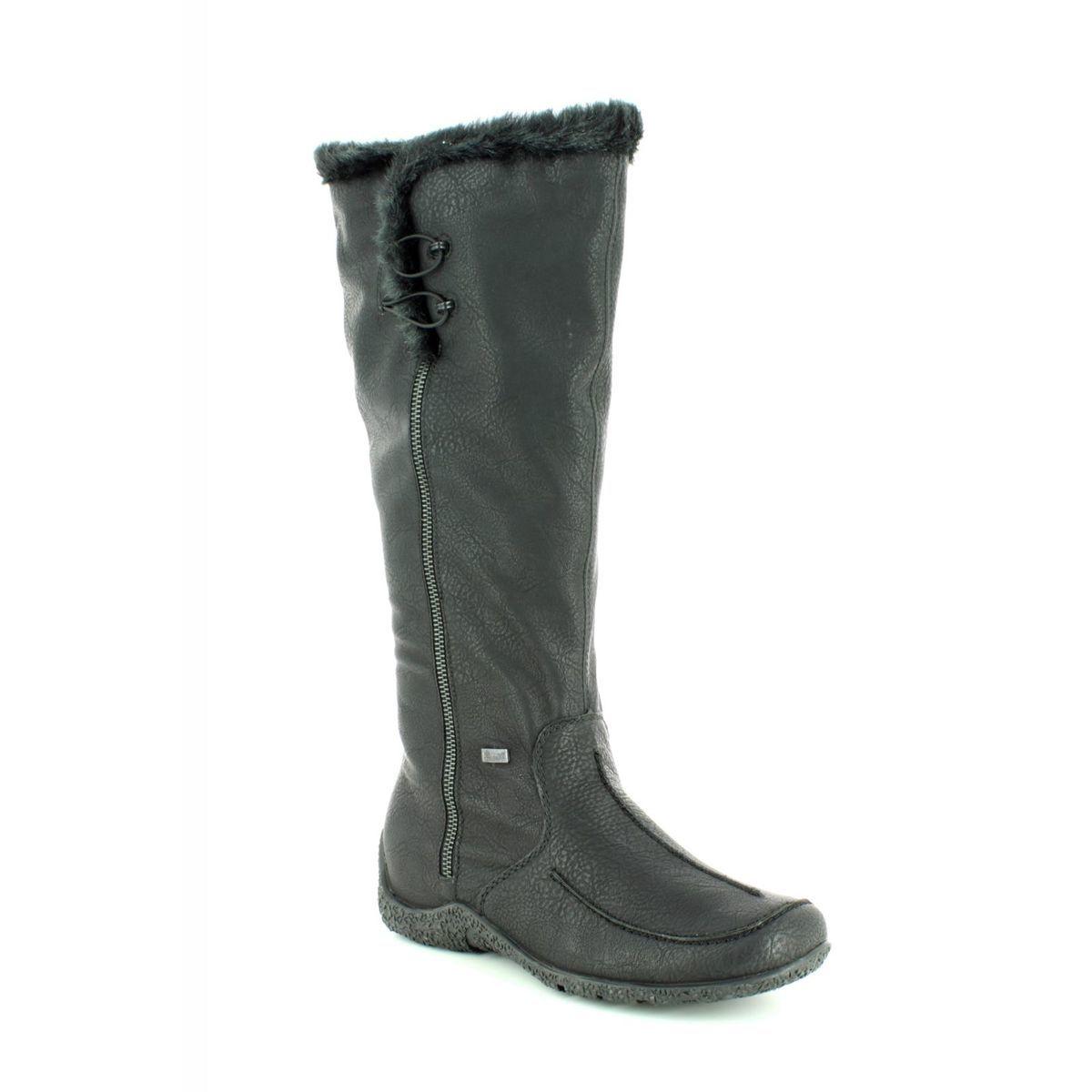 0ac53253dbb7f Rieker Knee-high Boots - Black - 79954-00 ASTRIFUR TEX