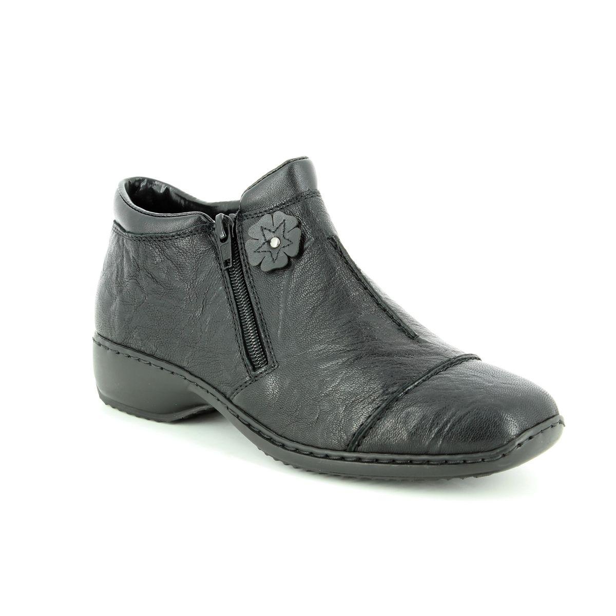 ba167c9b947a Rieker Ankle Boots - Black - L3888-00 DORBOFLO