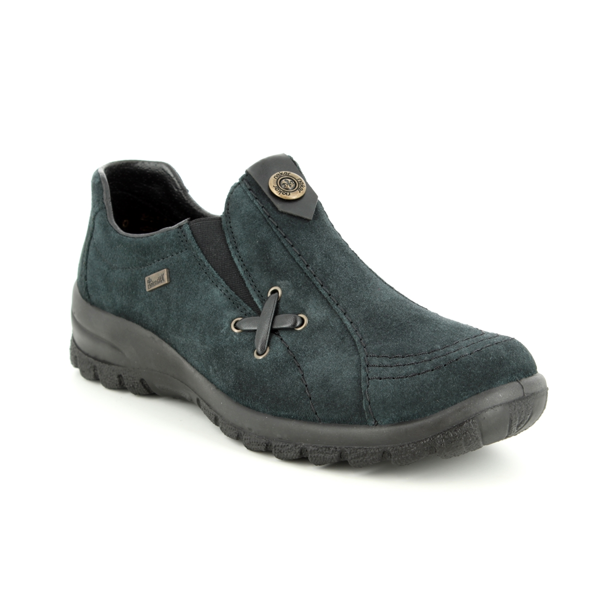 9415e58ecd Rieker Comfort Shoes - Navy suede - L7171-14 EIKESU