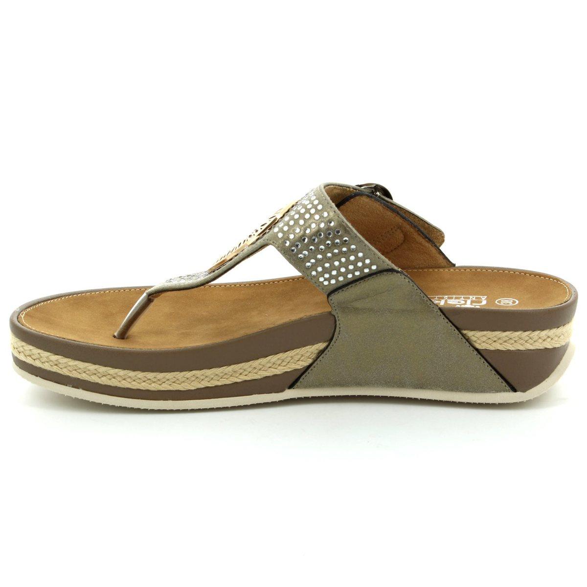 0207cccf7c872 Rieker Sandals - Metallic - V1460-62 LULU