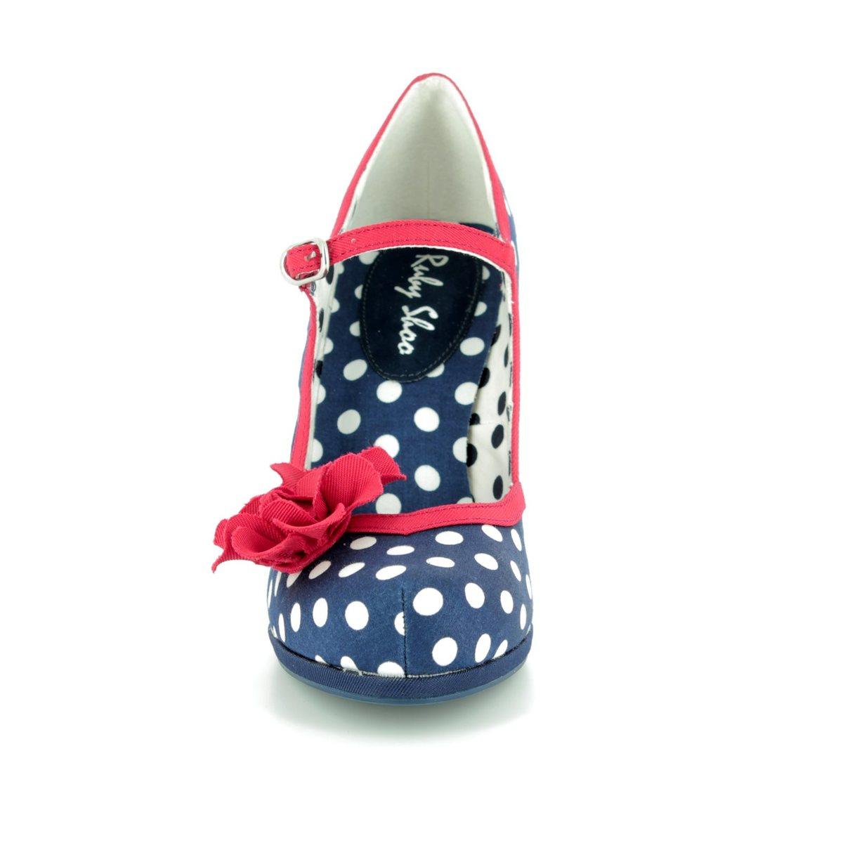 a8c982357b Ruby Shoo High-heeled Shoes - Navy multi - 09180/70 HANNAH