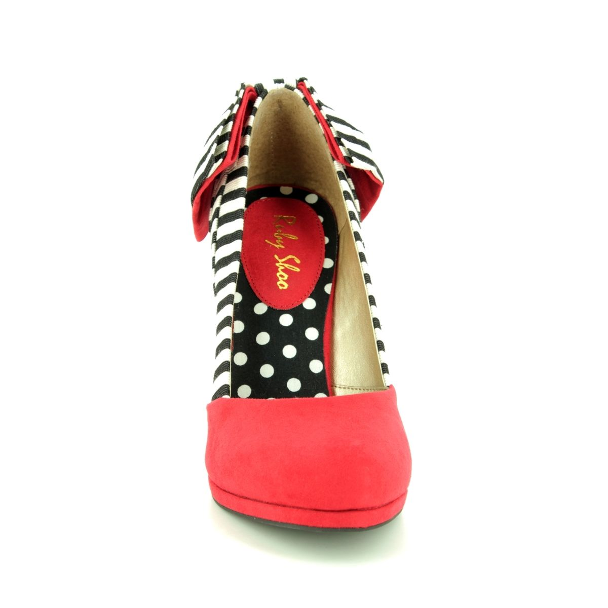 Shoo High 09217 Shoes Red Katie Ruby 80 Heeled qFwXSd