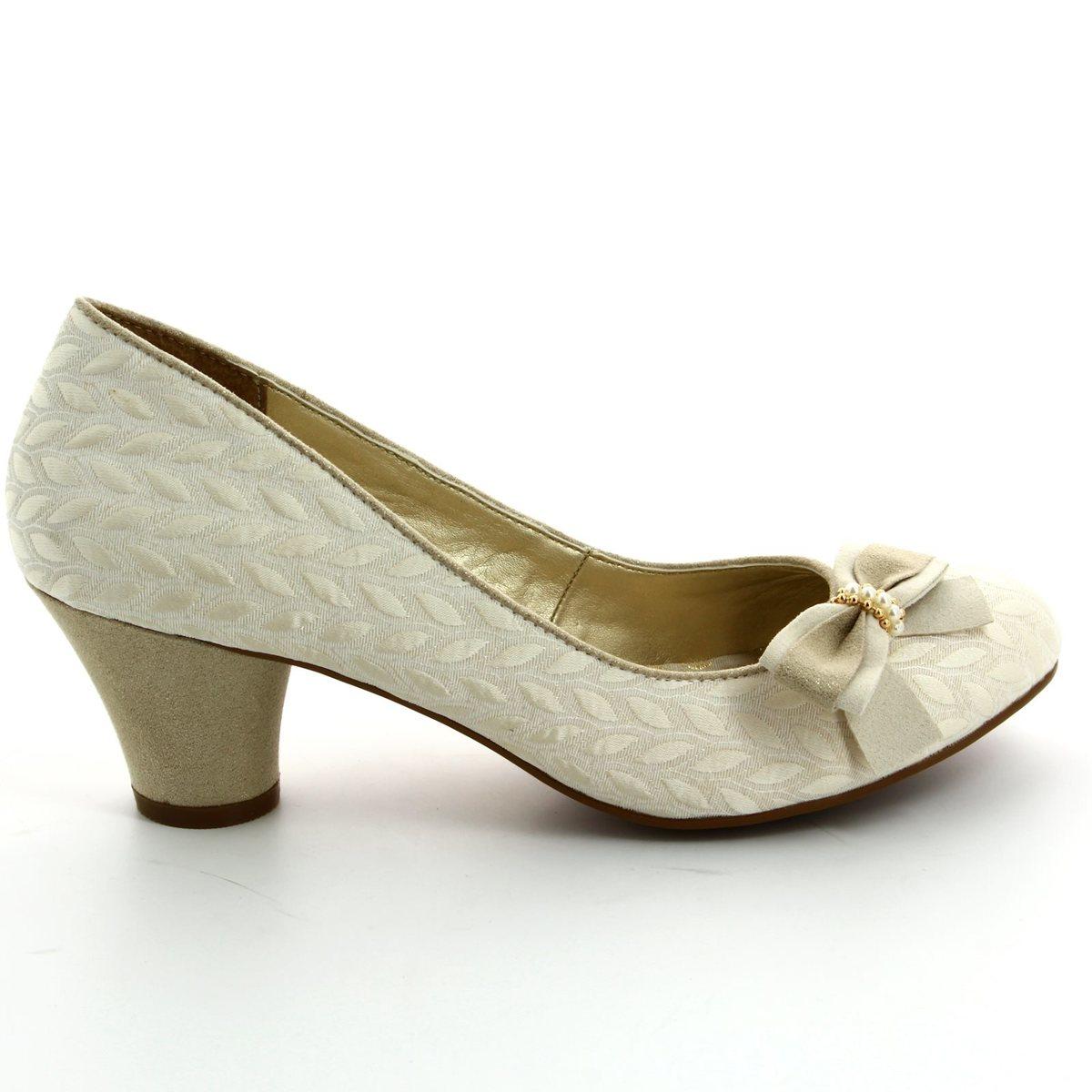 0655c04333f74 Ruby Shoo High-heeled Shoes - Cream - 09090/95 LILY