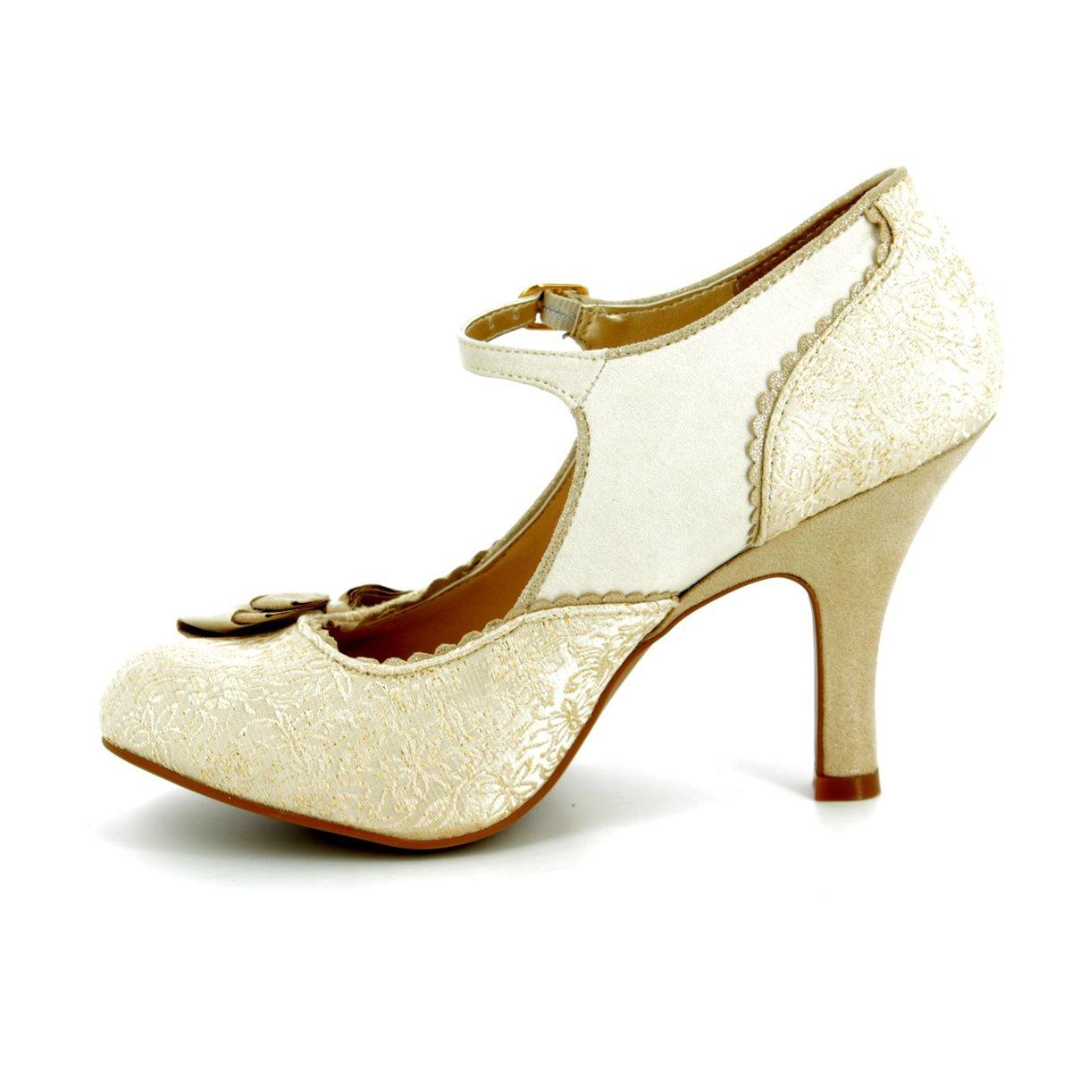 d69125d4aa313 Ruby Shoo High-heeled Shoes - Cream - 09155/75 MARIA