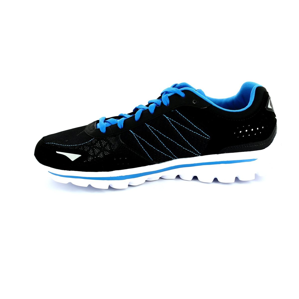 skechers b go walk 2 95691 bkbl black blue everyday shoes