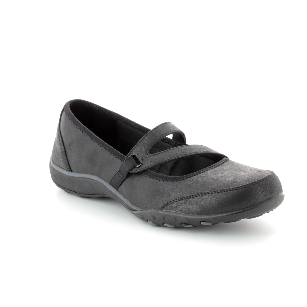 Skechers Calmly 23209 BBK Black Mary Jane Shoes ca15557747bb