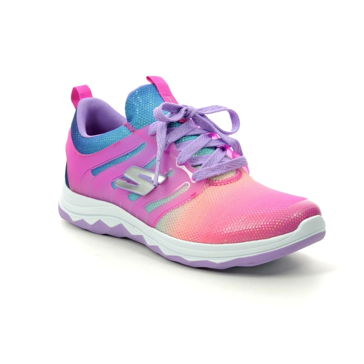 9c28b650f159 Skechers Diamond Runner 81562 NPMT PINK MULTI trainers