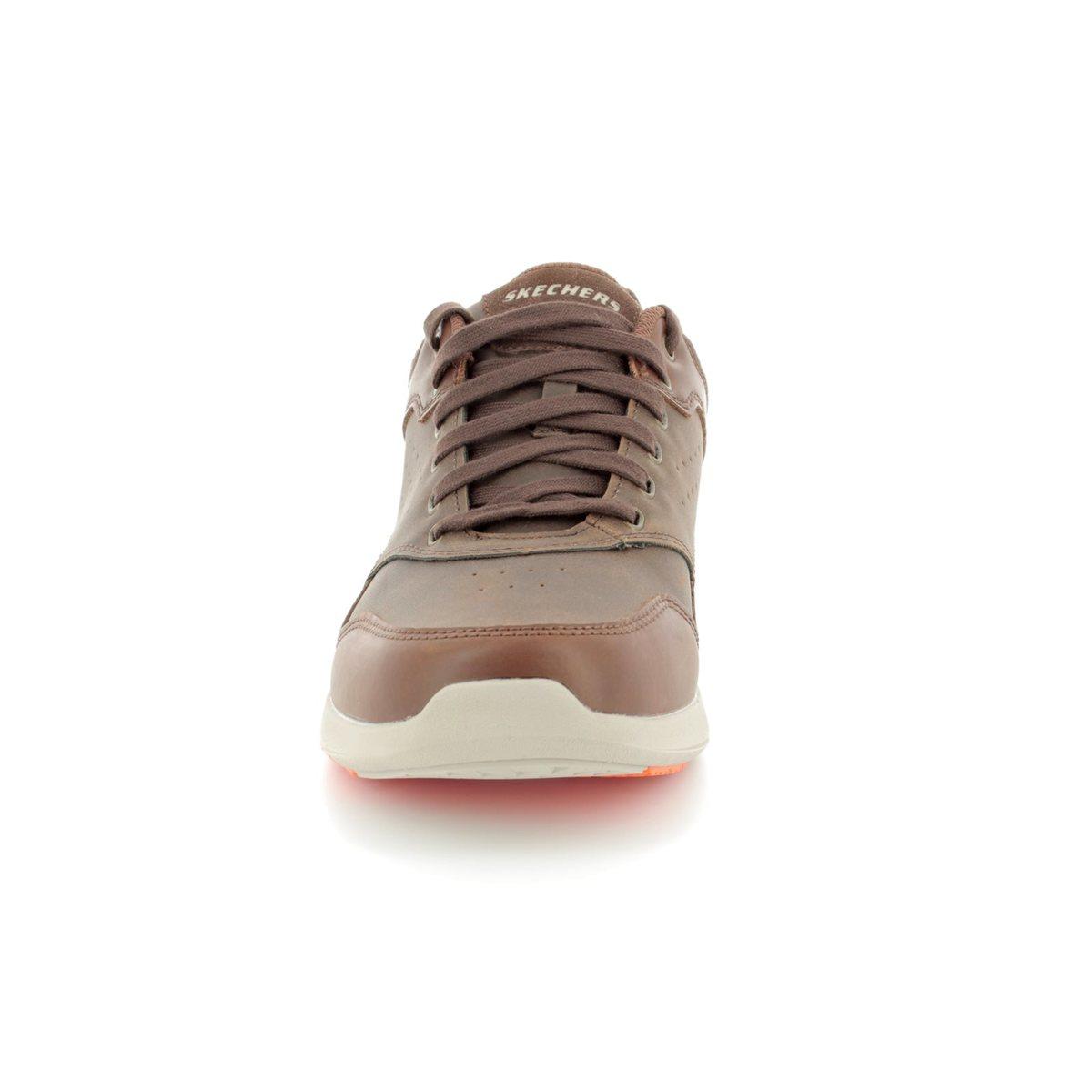 33c2eb72b5da Skechers Elent Velago 65406 BRN Brown casual shoes