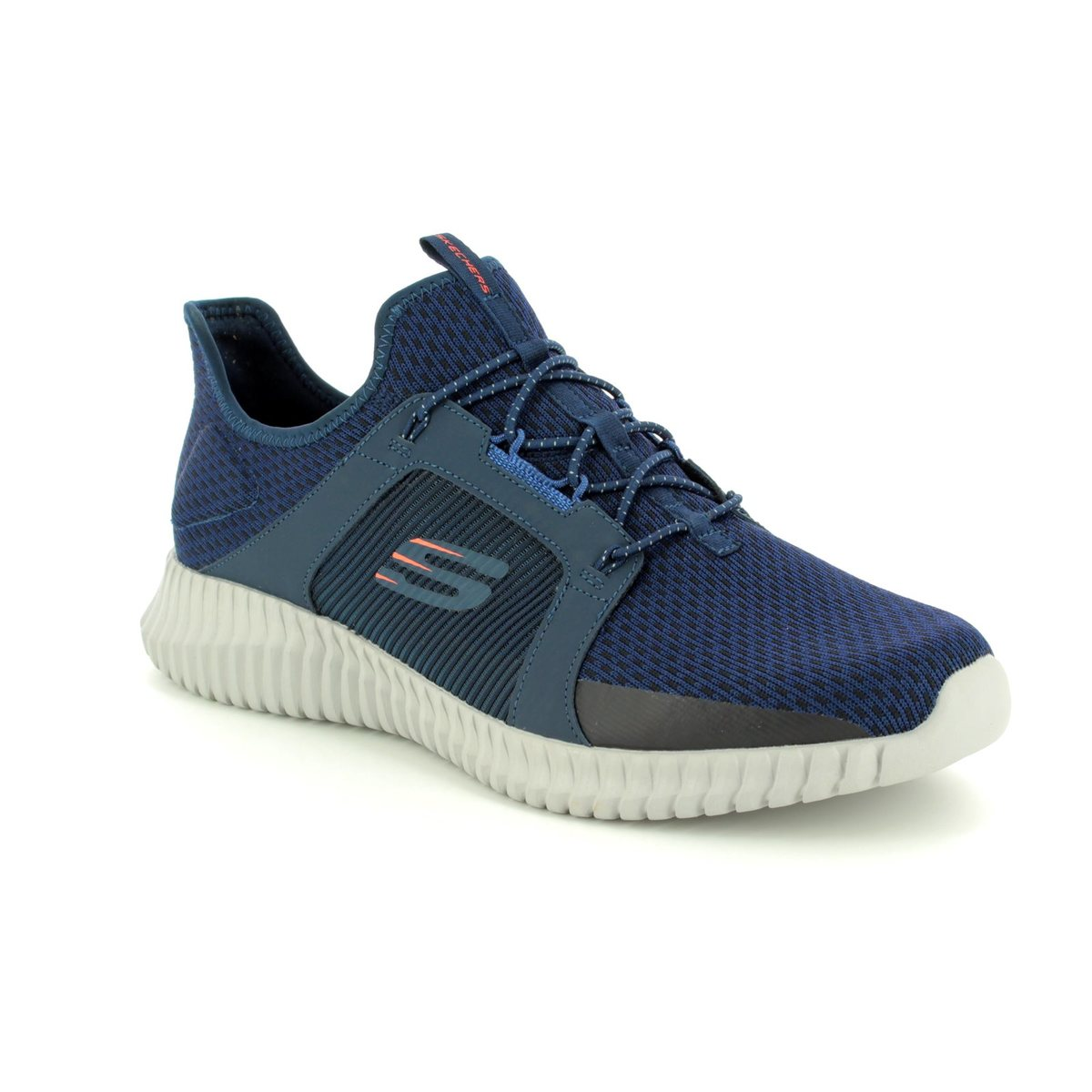 02951c11e593 Skechers Elite Flex New 52640 NVOR Navy trainers