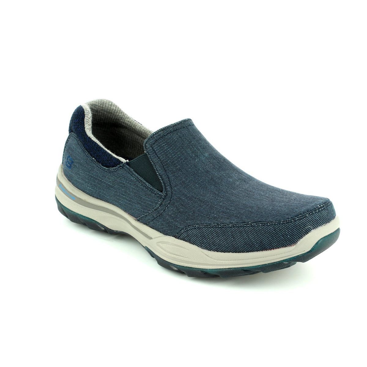 00ffc09aa31 Skechers Elment Campo 65001 NVY Navy casual shoes
