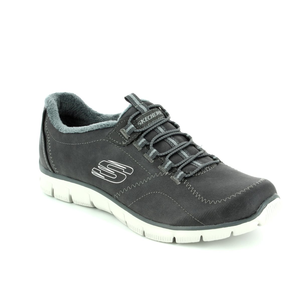 Skechers Trainers - Charcoal - 12394 EMPIRE