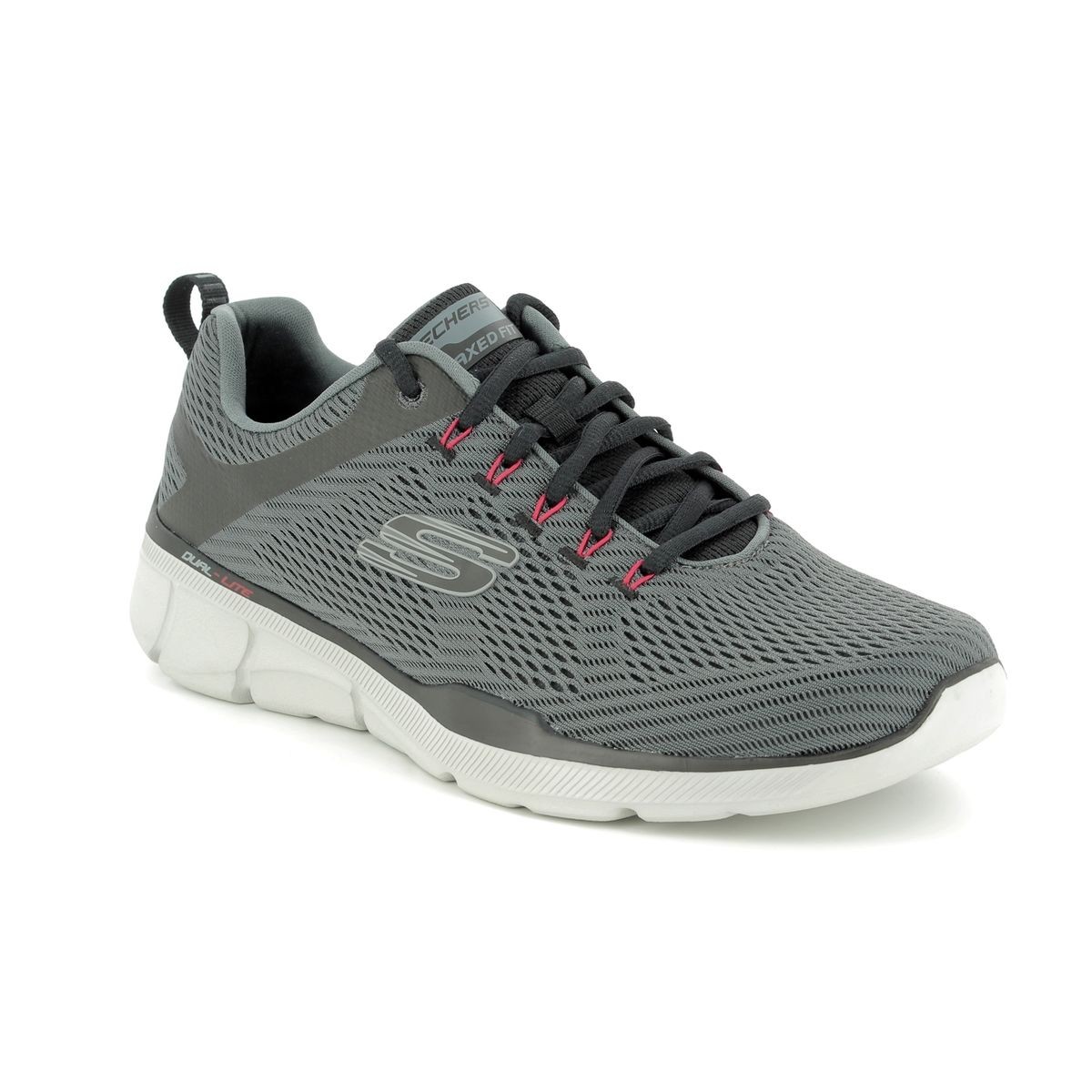 521e810c3e945 Skechers Equalizer 3.0 52927 CCBK Grey trainers