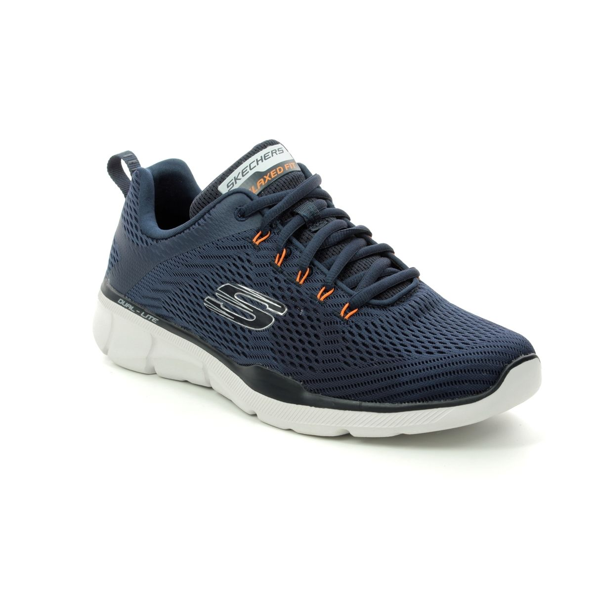 Inhalar fricción caloría  Skechers Equalizer 3.0 Relaxed Fit 52927 NVOR Navy trainers