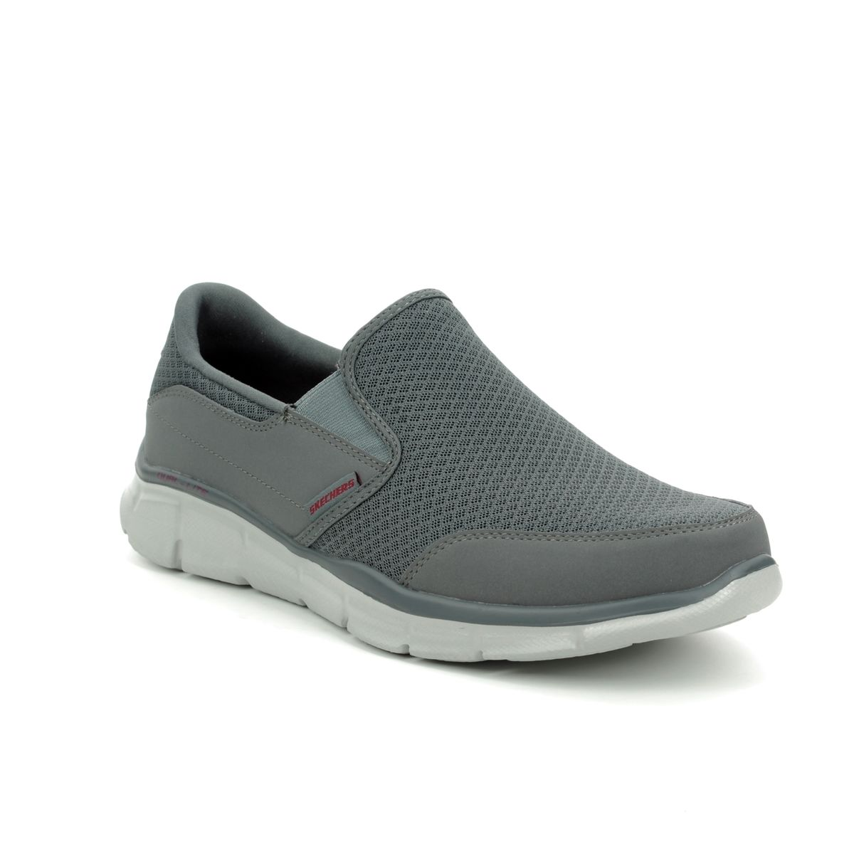 Skechers Equalizer Persistent 51361 CHAR Charcoal trainers 58533da6ed3