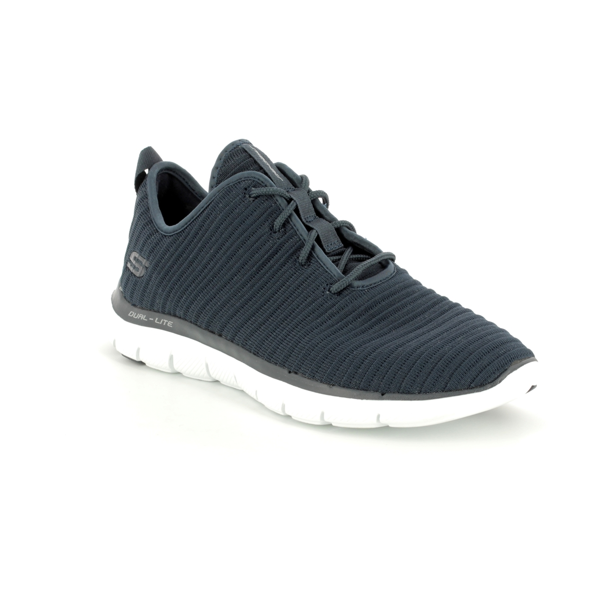 bbaab77cef4 Skechers Estates 12899 NVY Navy trainers
