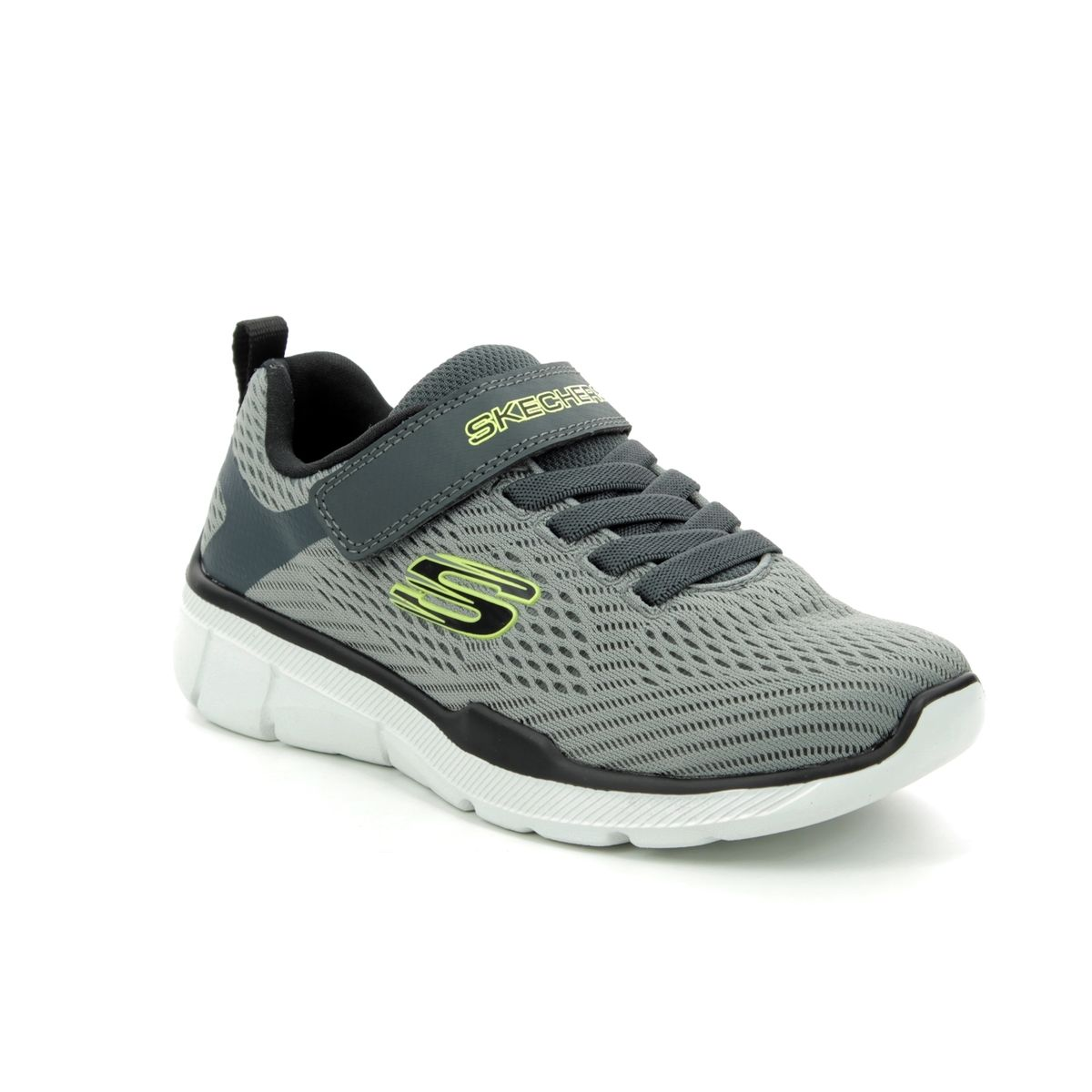 d2c77ccb1834 Skechers Final Match 97923 GYBK Grey trainers