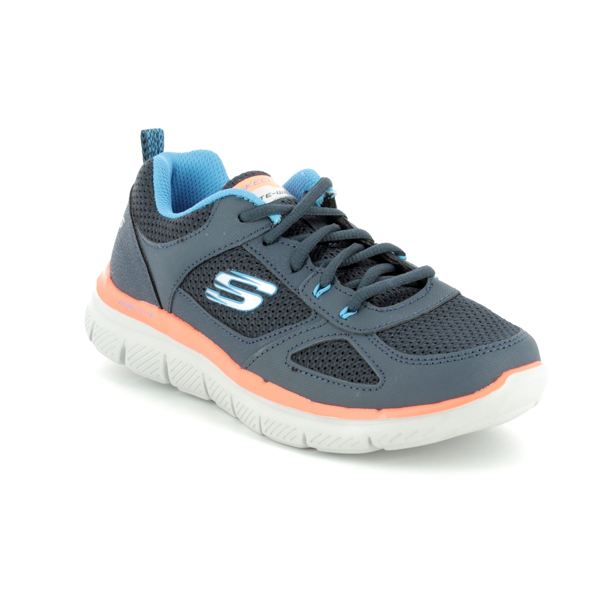 92dc7c0b02dd Skechers Flex Advant Jn 97454 NVBL Navy-Blue trainers