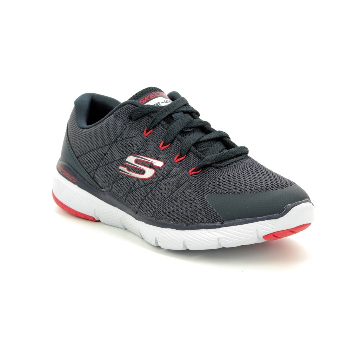 67a230dde2d Skechers Flex Advant Jnr 98140 NVCC Navy trainers
