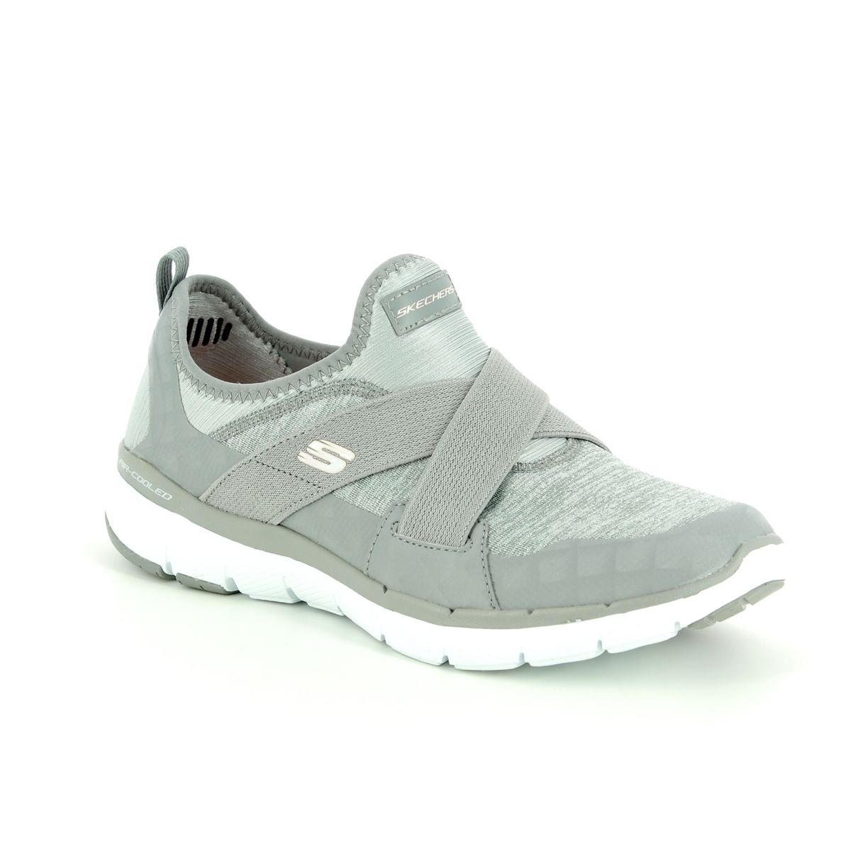 new concept 13229 60493 Skechers Trainers - Grey - 13065 FLEX APPEAL X