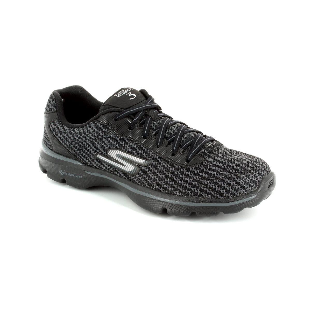 Skechers Trainers - Black - 13981 GO WALK 3 LACE