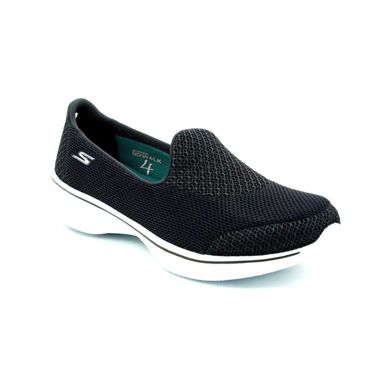 9e716c63801 Skechers Go Walk 4 14170 CHAR Charcoal trainers