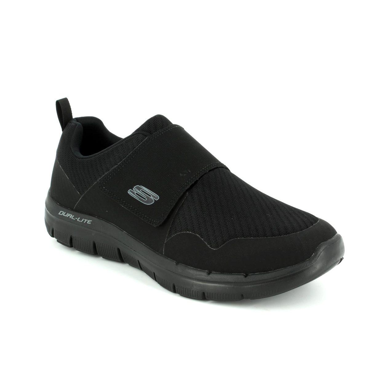 Skechers Gurn 52183 BBK Black slip-on
