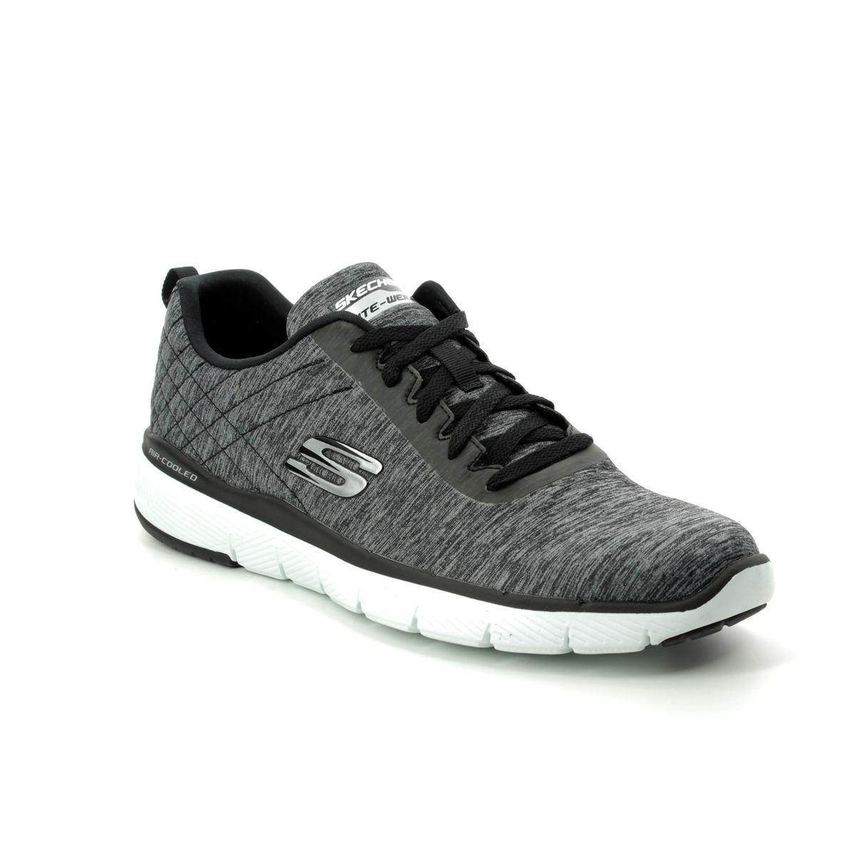Skechers Jection 52956 BKW Black-white