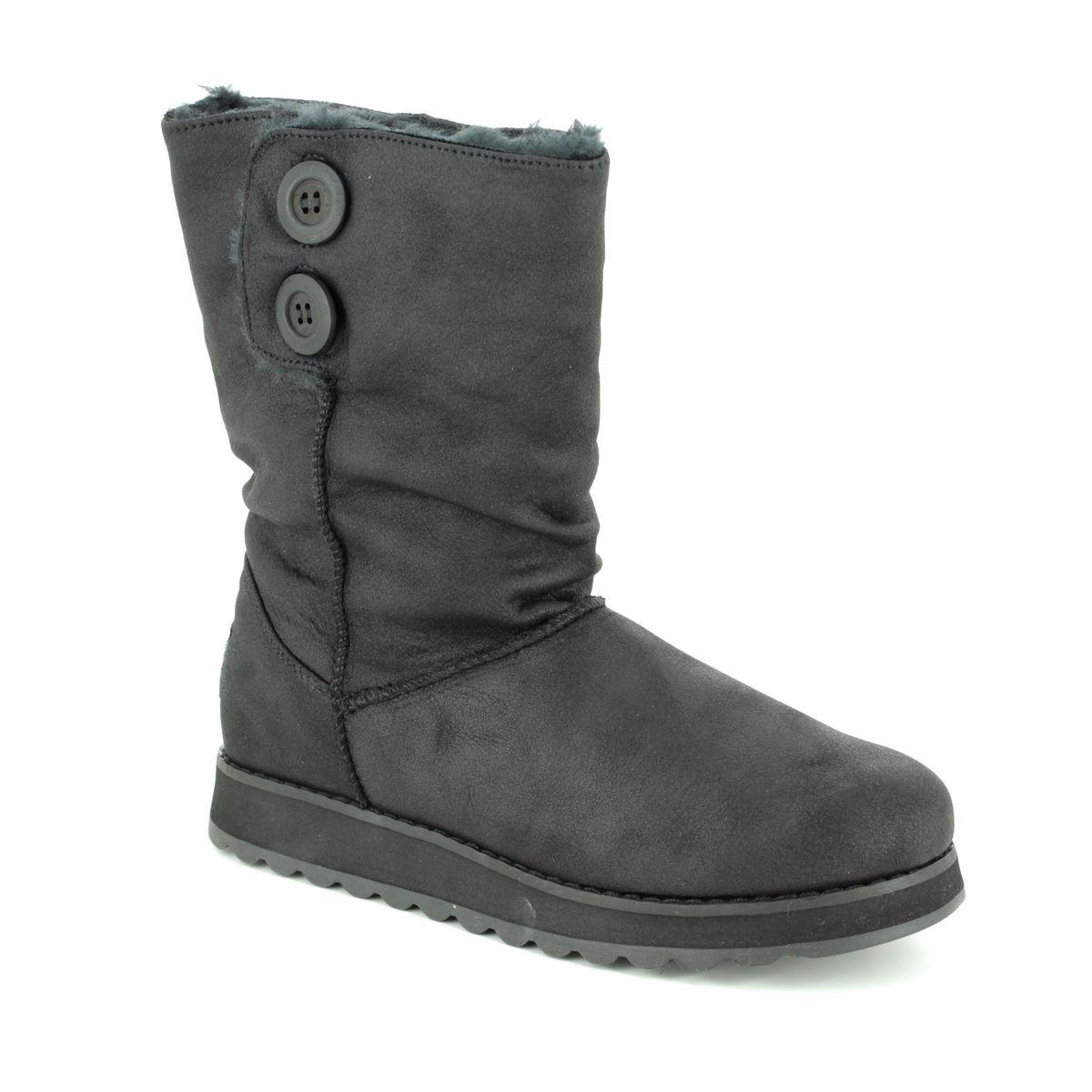 c0d39f2f02676 Skechers Keepsakes 2.0 44933 BLK Black knee-high boots