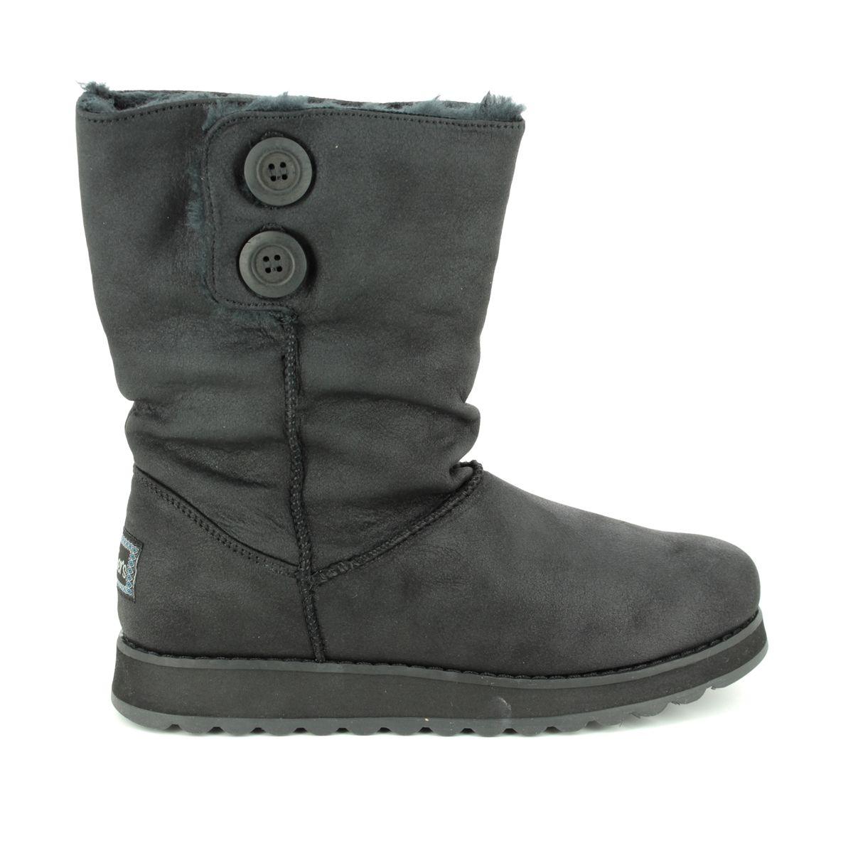 15a32df3b Skechers Keepsakes 2.0 44933 BLK Black knee-high boots