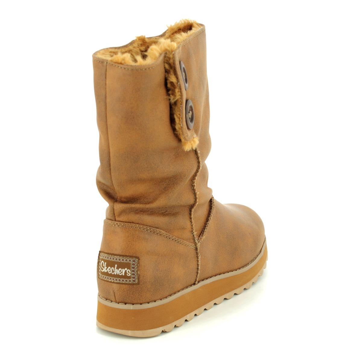 d890c6d3513 Skechers Keepsakes 2.0 44933 CSNT CHESTNUT knee-high boots