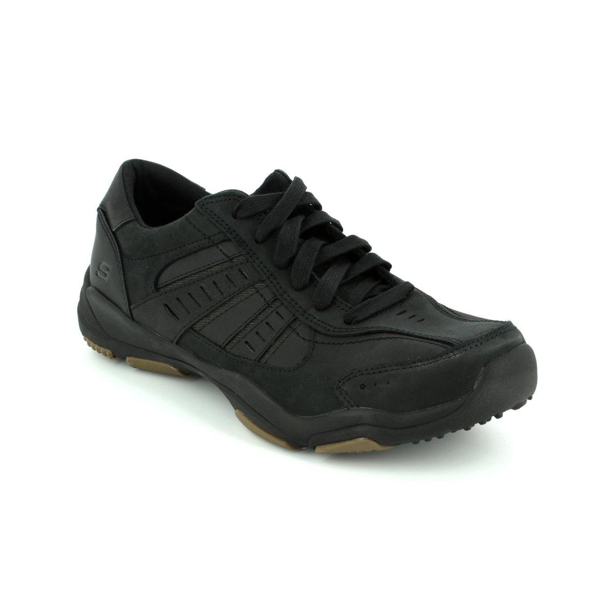 08972e66 Skechers Casual Shoes - Black - 64833 LARSON NERICK