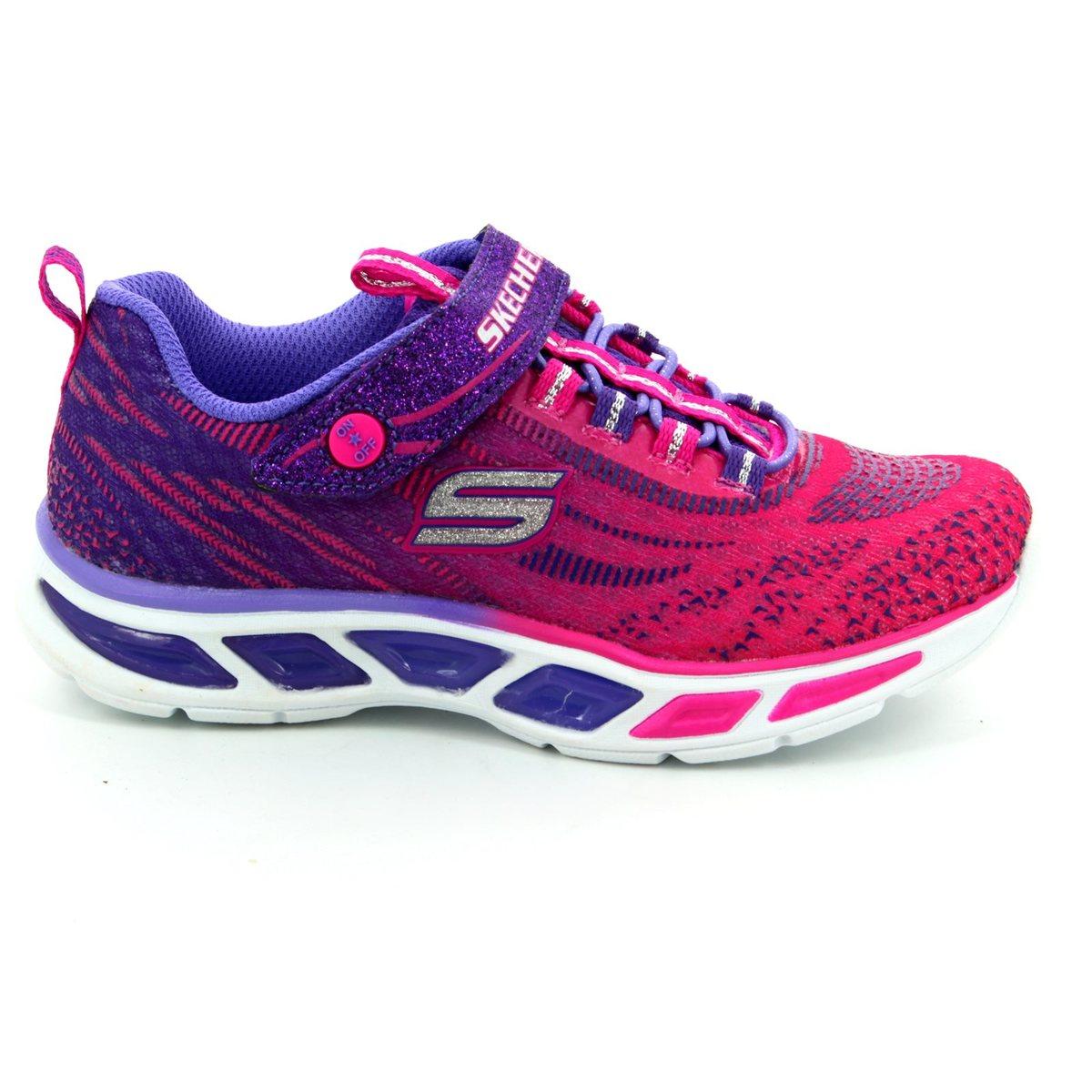 Skechers - Litebeams - pink Mesh - 10667L-HPPR - EU=30 cmNn4wKA