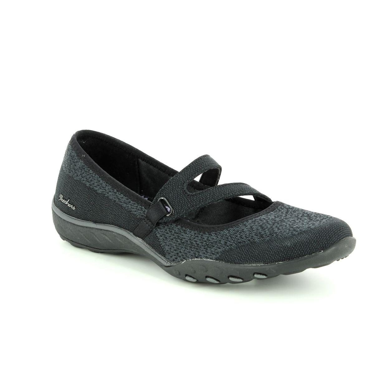 brand new 17a9b 7217d Skechers Trainers - Black - 23005 LUCKY LADY