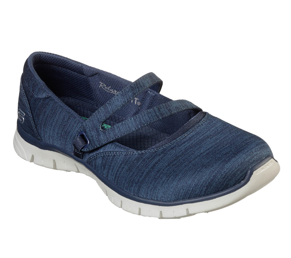 db119dba84ca Skechers Make It Count 23469 NVY Navy Mary Jane Shoes