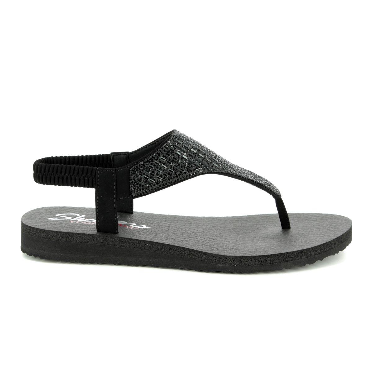 27f030c0 Skechers Flat Sandals - Black - 31560 MEDITATION ROCK CROWN