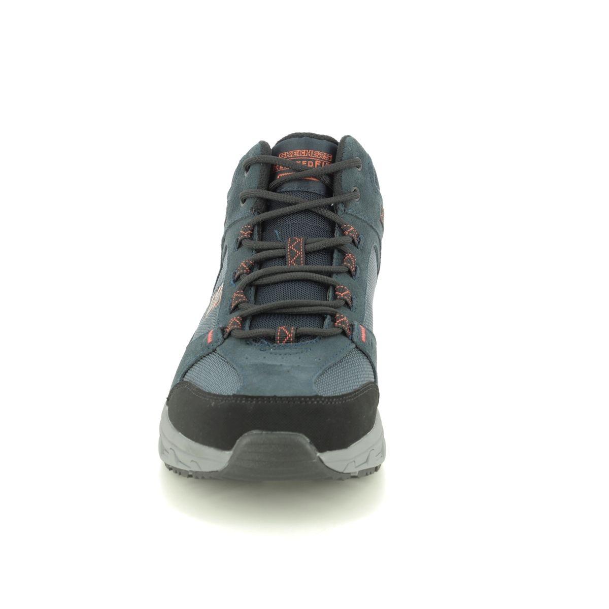 Al frente Virgen Adversario  Skechers Oak Canyon Boot Relaxed Fit 51895 NVOR Navy Outdoor Walking Boots