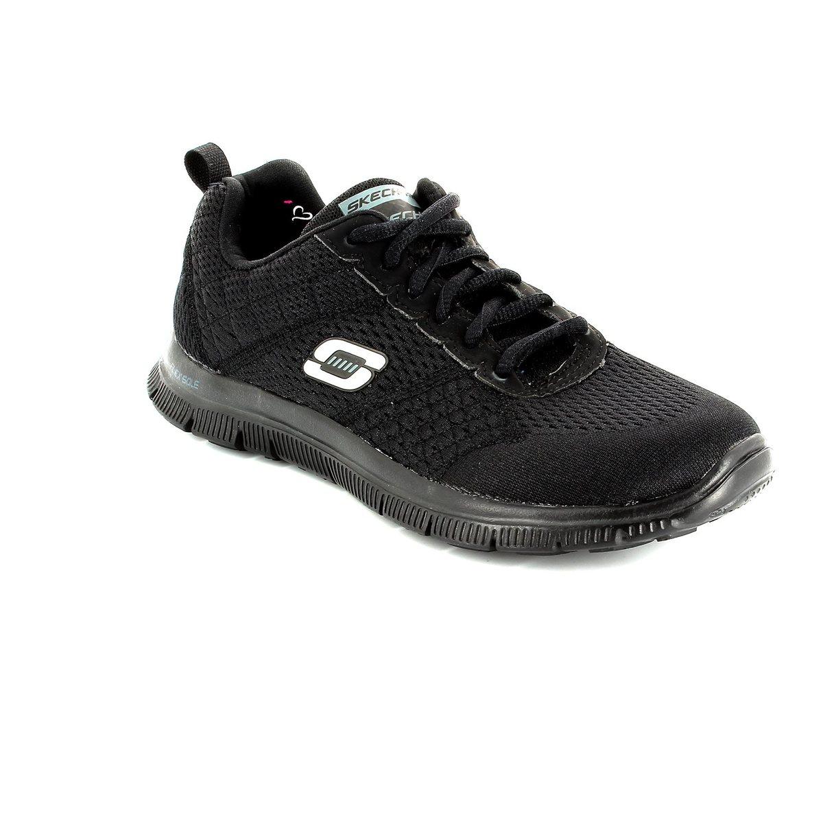 cda581caa225 Skechers Obvious Choice 12058 BBK Black trainers