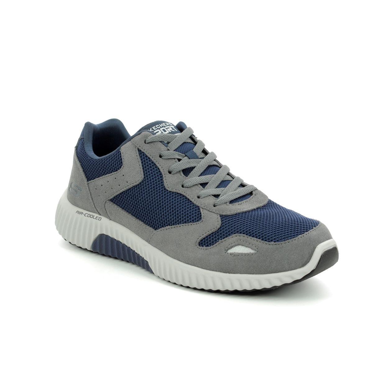 SKECHERS Herren – Sneaker PAXMEN 52518 – charcoal navy