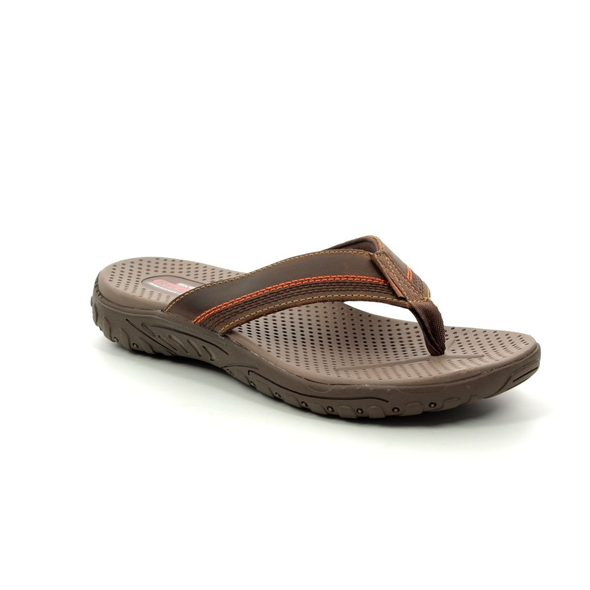 f56c69cb589d Skechers Reggae Cobano 65460 BRN Brown sandals