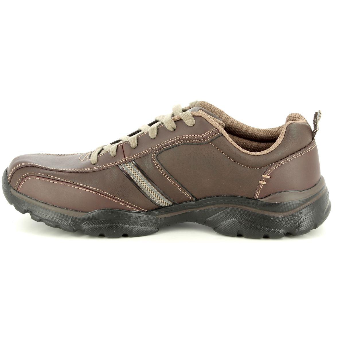 Skechers Rovato Larion 65419 BRN Brown