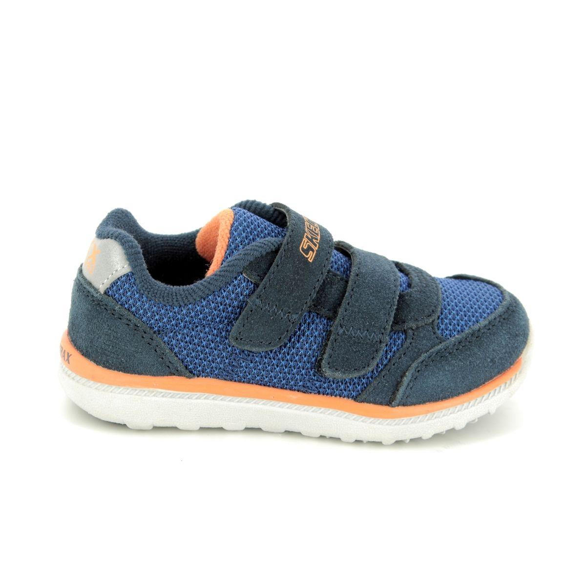 bbc122b151cf Skechers Skech Trax 97711 NVBL Navy-Blue first shoes
