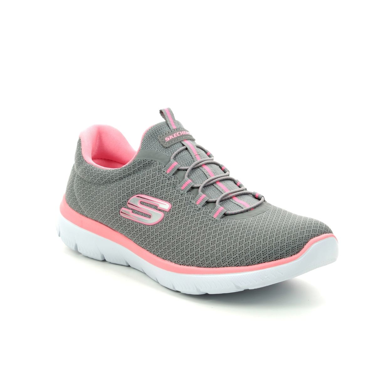 skechers trainers pink \u003e Factory Store