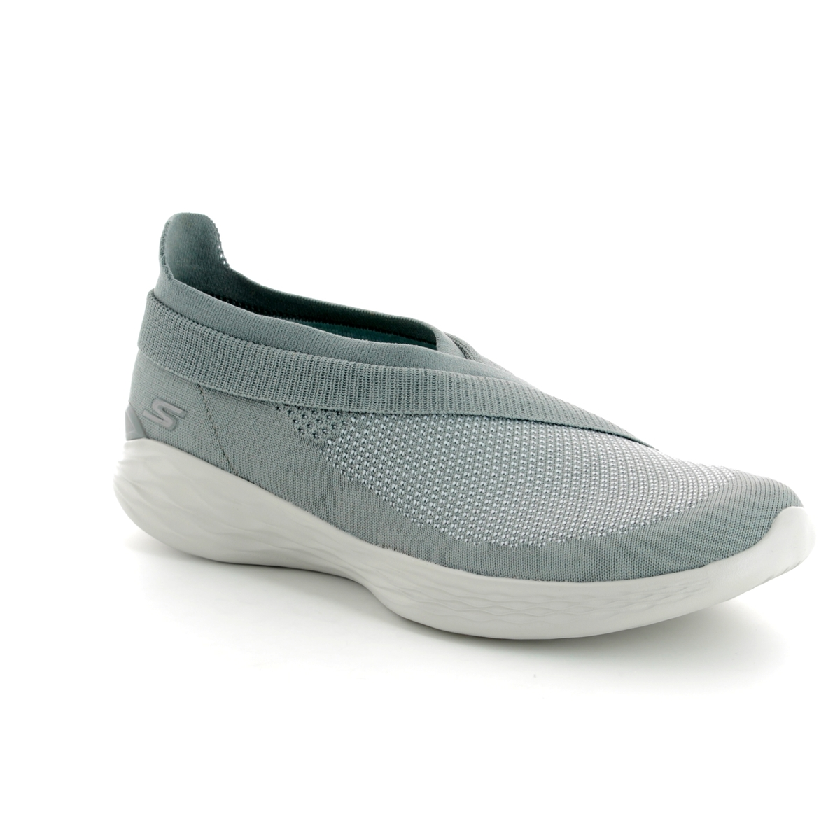 0796f45c9107 Skechers You Luxe 14955 GRY Grey trainers