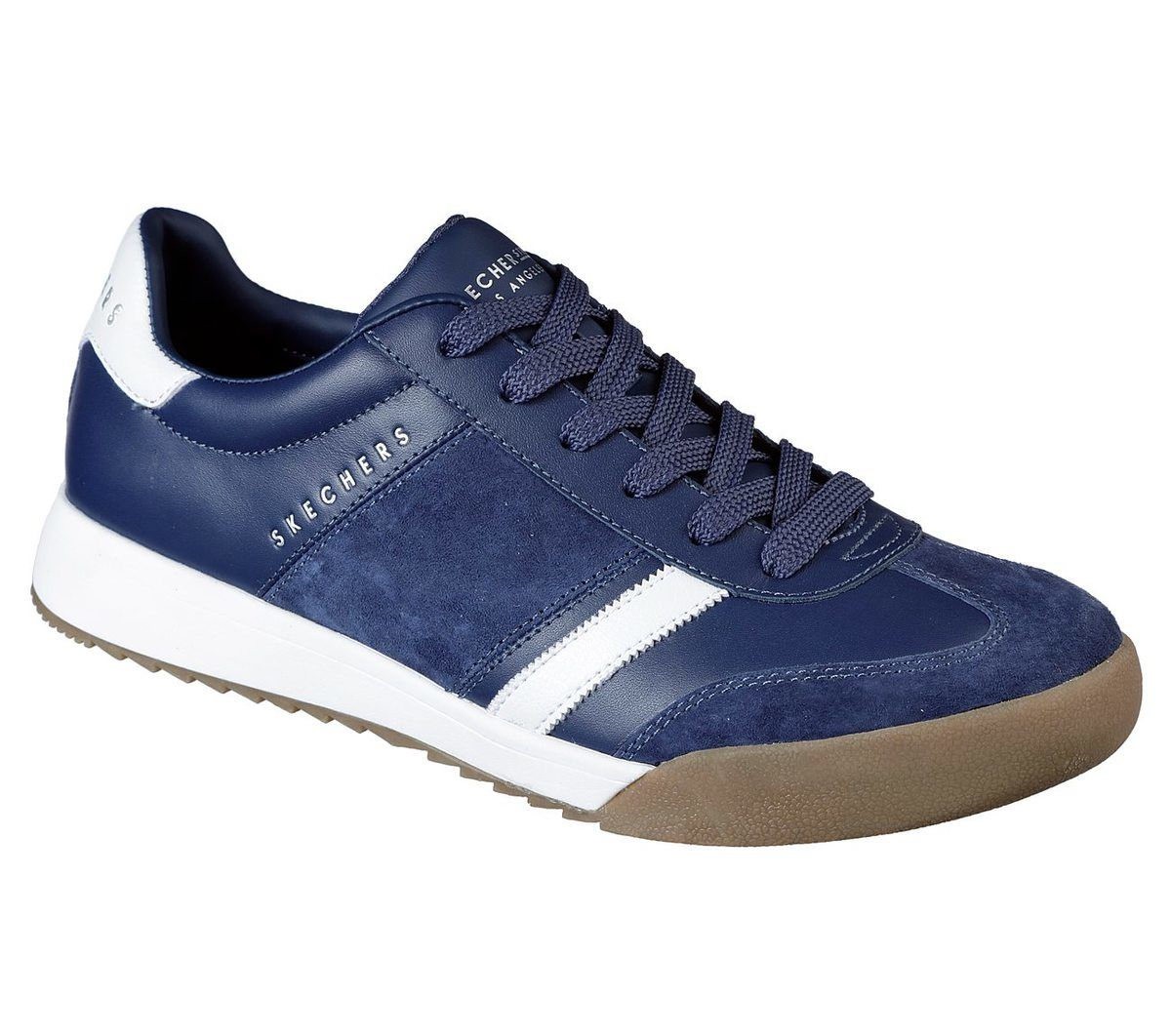 Pino Pase para saber Sureste  Skechers Zinger Scobie 52322 NVY Navy trainers