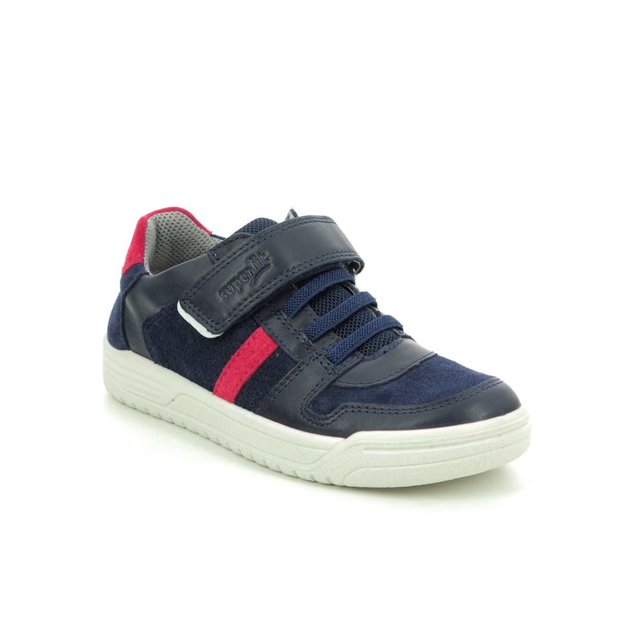 Mirilla Mascotas Continuamente  Superfit Earth 25 06055-81 Navy Red everyday shoes