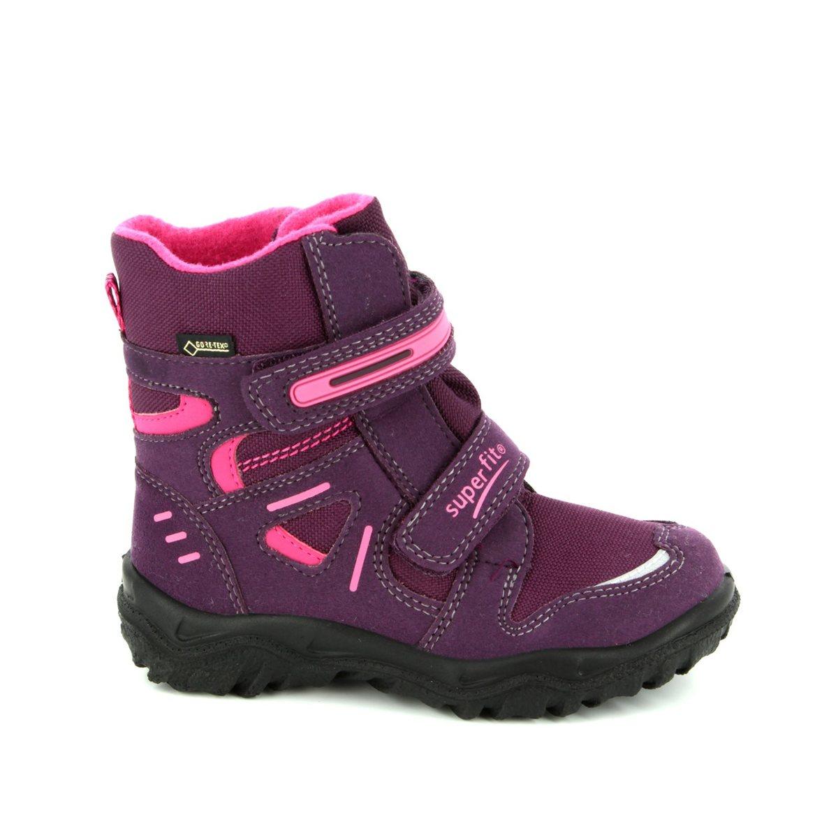 18b8b7045c8 Superfit Boots - Purple multi - 00080/41 HUSKY GORE TEX