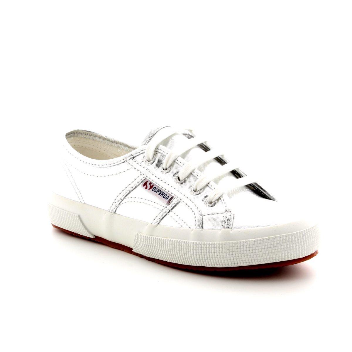 7e1012f87e2a Superga Trainers - Silver metallic - 2750 COTMETU Grey Silver S002HG0