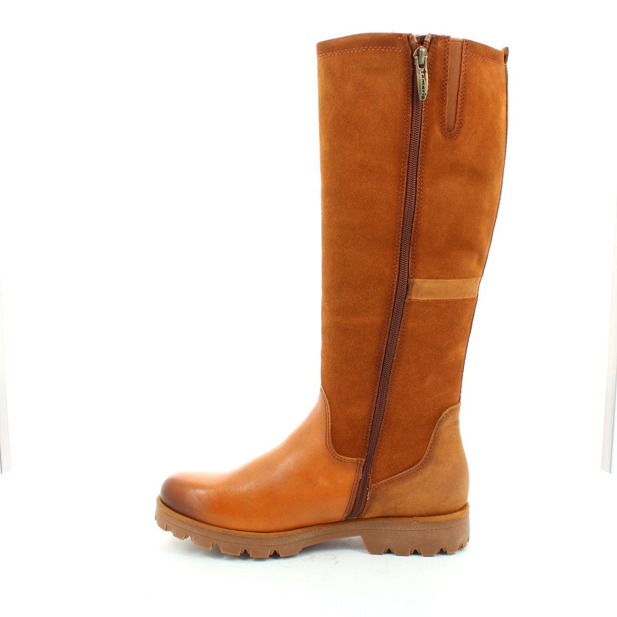 tamaris angelana 25600 392 tan knee high boots. Black Bedroom Furniture Sets. Home Design Ideas