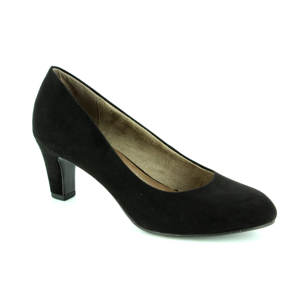 tamaris caxias 22418 001 black high heeled shoes. Black Bedroom Furniture Sets. Home Design Ideas