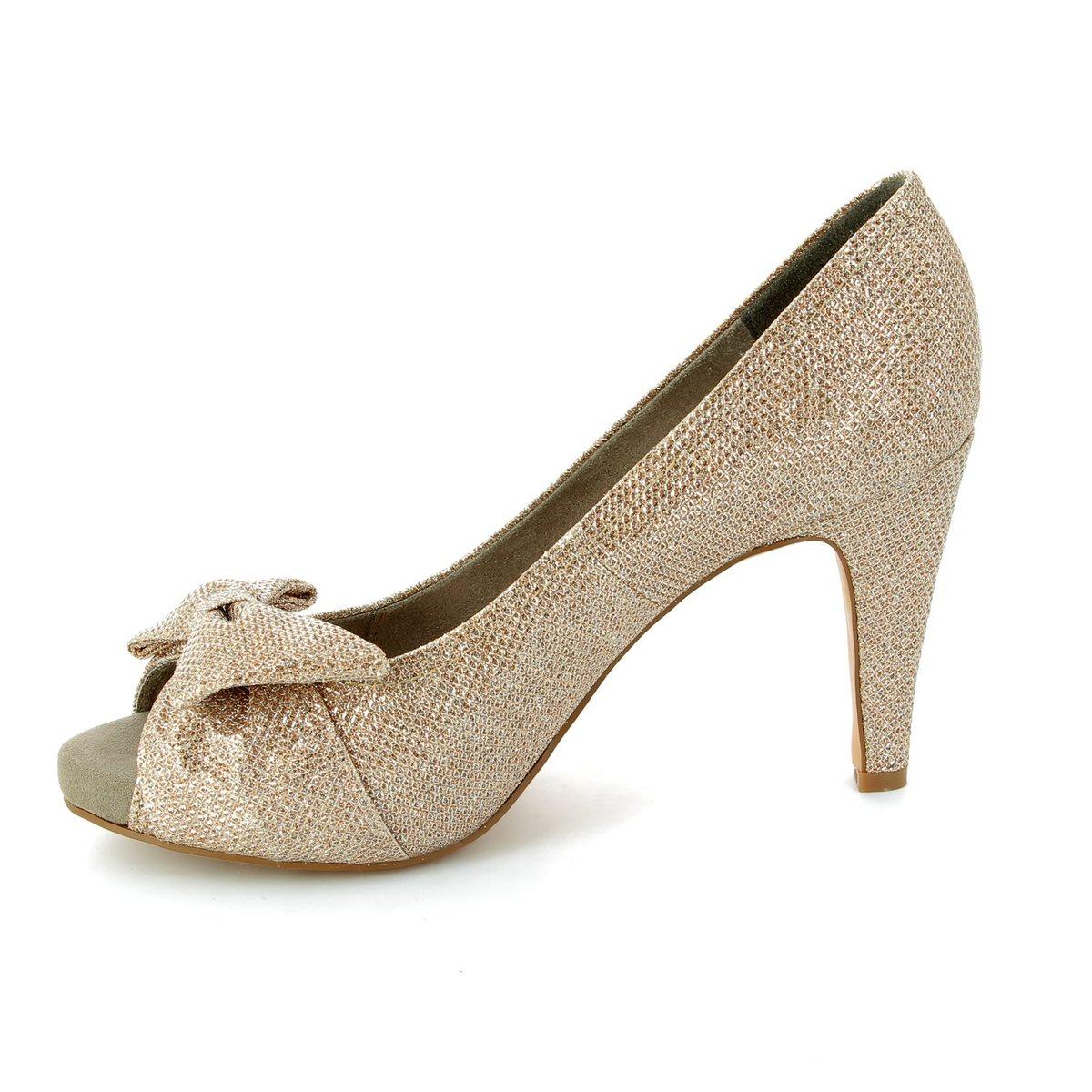 tamaris geiger 29300 970 gold high heeled shoes. Black Bedroom Furniture Sets. Home Design Ideas